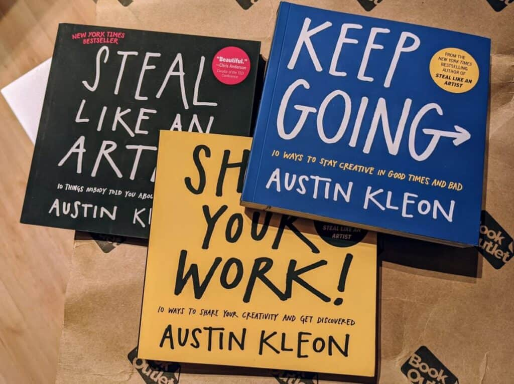Austin Kleons books were my best purchase in October 2020