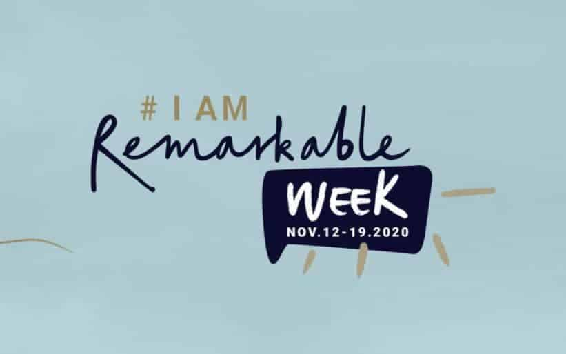 #IamRemarkable Week Logo