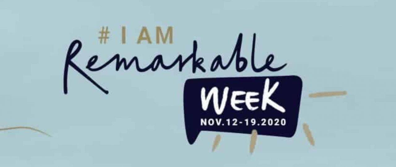 #IamRemarkable Week Logo